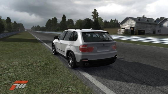 BMW X5 monster on the Nuerburgring