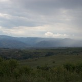 The landscape around Melnik, Bulgaria