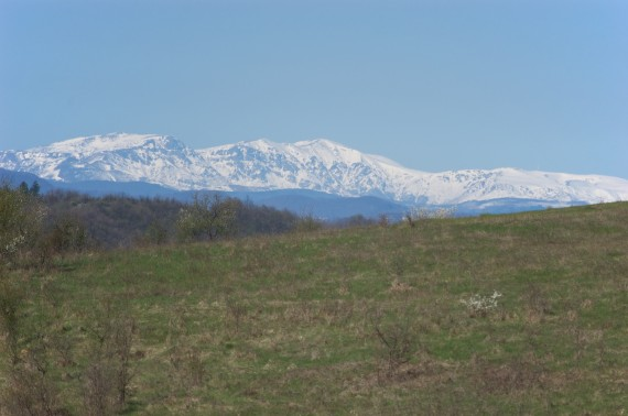 The Snowy Balkan in the Spring