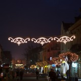 Alexandrovska street in the evening