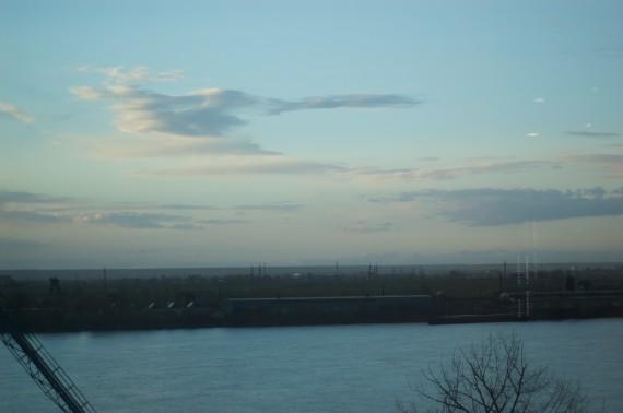 Danube, Romania, Sky