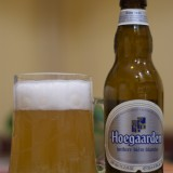 Hoegaarden in a pint