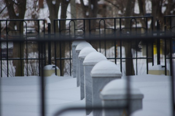 The Russian cemetery